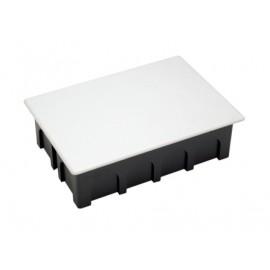 Caja Electricidad 160X100X50 Empotrar Famat Abs/Poliestireno  Negro Con Garras 3202