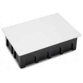 Caja Electricidad 200X130X60 Empotrar Famat Abs/Poliestireno  Negro Con Garras 3203