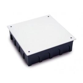 Caja Electricidad 200X200X60 Empotrar Famat Abs/Poliestireno  Negro Con Tornillos 3204
