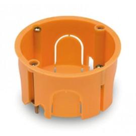 Caja Electricidad 67X67X39 Empotrar Famat Polipropileno Nar Pladur Redonda 3255