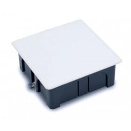 Caja Electricidad 100X100X45 Empotrar Famat Pp Negro Pladur Con Tornillos 3251