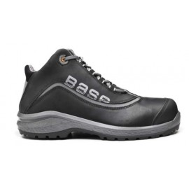 Bota T41 S3 Puntera/plantilla No Metal Be-Free Top Piel  Negro/Gris Base
