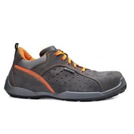 Zapato Seguridad T37 S1P Deportivo Puntera Plastico No Metal Climb Serr.Af Gr/Nar Bas