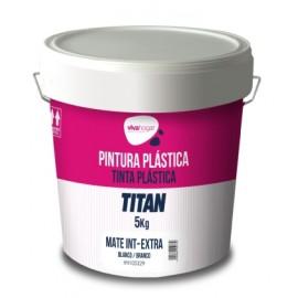 Pintura Plastica Mate 5 Kg Blanco Interior Extra Vivahogar Vivah