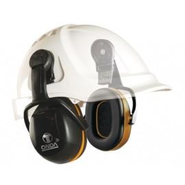 Orejeras Proteccion Negro Abs Adaptador Casco Onda 3C 3L