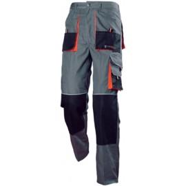 Pantalon Trabajo Xxl Algodon Gris Diamond 3L