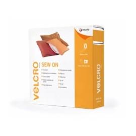 Cinta Textil 20Mmx 25Mt Blanco Velcro