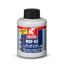 Adhesivo Pvc Rigido/Flexible Gel 250 Ml Azul Rapido Wdf05 Bote Griffo