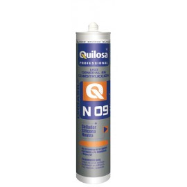 Silicona Neutra Construccion 300 Ml Tr. Int/Ext Orbasil N-09 Quilo