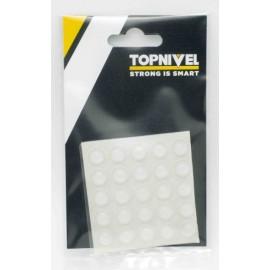 Tope Proteccion Golpes 10X 3Mm Adhesivo Antidesl Tra Nivel 25 Pz