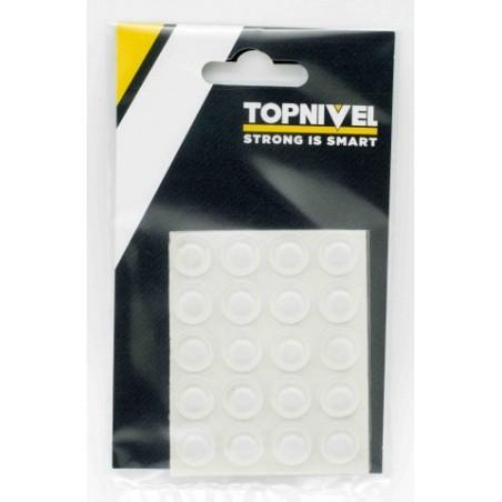 Tope Proteccion Golpes 13X 4Mm Adhesivo Antidesl Tra Nivel 25 Pz
