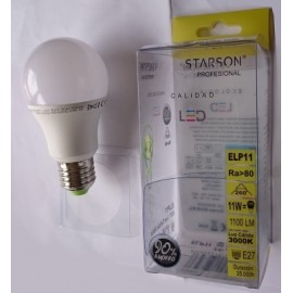 Lampara Ilumin Led Estan E27 13W 1300Lm 6400K