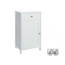 Mueble Baño Suelo 43X34X77Cm 1 Puerta 1Cajonera Mdf