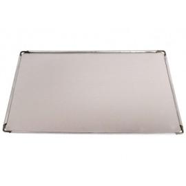 Bandeja/Lata Horno 28X40X0,5Cm  Aluminio Alum Villarinox