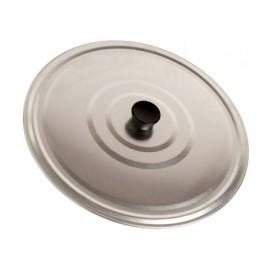 Tapa Cocina Lisa 50Cm P/Paella Aluminio Villarinox
