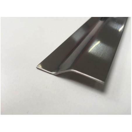 Pletina Perfilada 83Cm Distinto Nivel Adhesivo Acero Ceramico