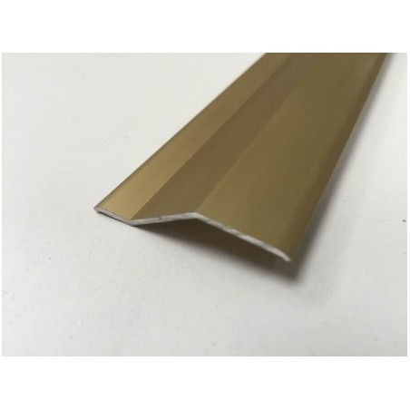 Pletina Perfilada 83Cm Distinto Nivel Adhesivo Aluminio Oro Ceramico