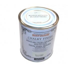 Pintura Al Agua Para Muebles 750 Ml Blanco Chalky Rust-Oleum