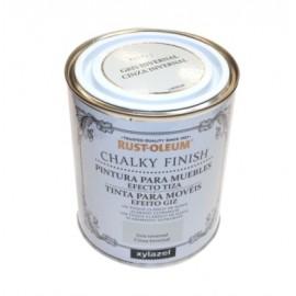 Pintura Al Agua Para Muebles 750 Ml Gris Chalky Rust-Oleum