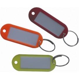 Portaetiqueta Llaves 98505 Plastico Rojo Micel