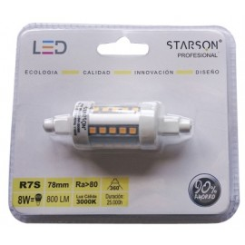 Lampara Ilumin Led Lineal 78Mm 8W 800Lm 3000K