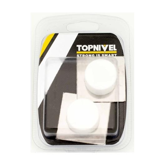 Tope Puerta 45X45X20Mm Adhesivo Bl Clasico Nivel 2 Pz