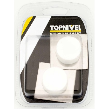 Tope Puerta 45X45X20Mm Adhesivo Bl Clasico Nivel 2 Pz