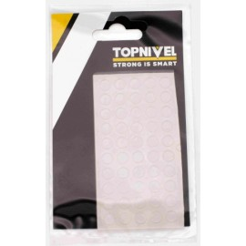 Tope Proteccion Golpes 7X1,5Mm Adhesivo Antidesl Tra Nivel 20 Pz