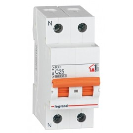 Automatico Electricidad 1P+Neut Legrand 10 Amperios 419925
