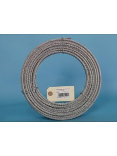 Cable Acero Galvanizado 6X19+1 10Mm Cursol 100 Mt