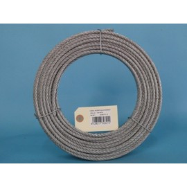 Cable Acero Galvanizado 6X19+1 06Mm Cursol 100 Mt