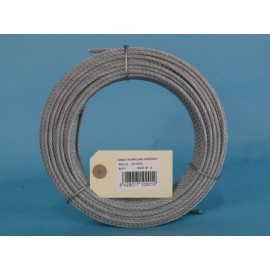 Cable Acero Galvanizado 6X7+1 2Mm Cursol 100 Mt