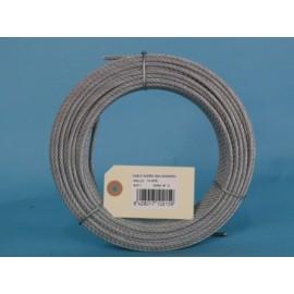 Cable Acero Galvanizado 6X7+1 2Mm Cursol 15 Mt