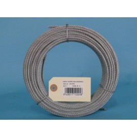 Cable Acero Galvanizado 6X7+1 2Mm Cursol 25 Mt
