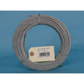 Cable Acero Galvanizado 6X7+1 3Mm Cursol 100 Mt