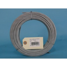 Cable Acero Galvanizado 6X7+1 4Mm Cursol 100 Mt