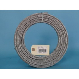 Cable Acero Galvanizado 6X7+1 6Mm Cursol 100 Mt