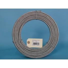 Cable Acero Galvanizado 6X7+1 6Mm Cursol 25 Mt