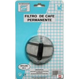 Filtro Cafe Permanente 1X2 Papel Tecnhogar