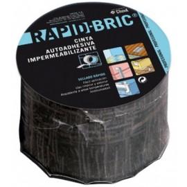 Cinta Impermeabilizante  Adhesiva 0,16Mtx12Mm Teja Rapid Bric