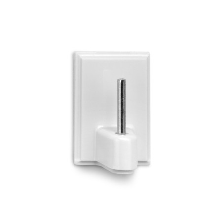 Colgador Portavisillo 118X85X14Mm Adhesivo Blanco Inofix