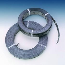 Fleje Fijacion  Perforado 2X50Mt Espesor 0,7Mm Metal Osyma 2 Pz
