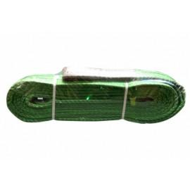 Eslinga Elevacion Plana 2000X6Mt Abierta Doble Banda Verde  Nivel