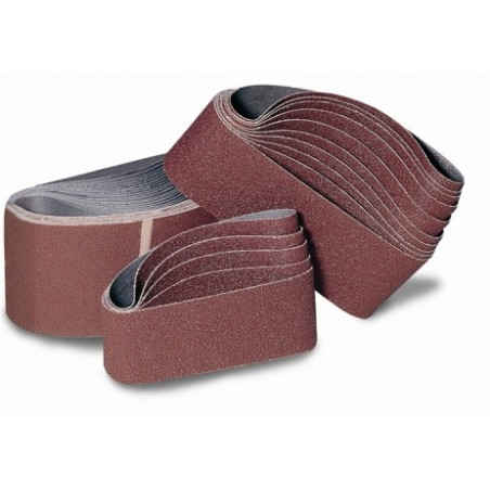 Banda Lija Gr 50 Oxido Aluminio 100X690 Mm Tela Flexovit