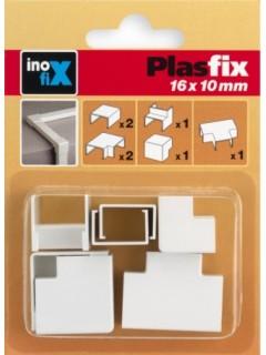 Canaleta Electricidad 16X10Mm Pvc Blanco Accesorios Inofix