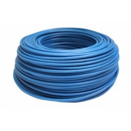 Cable Electricidad 6Mm Hilo Flexible Nivel Azul 750V Cf1060 100 Mt