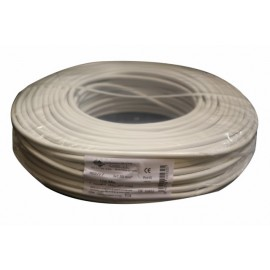 Cable Electricidad 3X1,5Mm Manguera Nivel Blanco Rdo 750V M3015 100 Mt