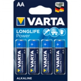 Pila Alcalina Lr06 Aa 1,5V High Energy Varta 4 Pz
