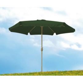 Parasol Jardin 3Mt Aluminio Verde Con Faldon T/38