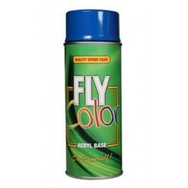 Pintura Acrilica Brillante 400 Ml Ral 3000 Rojo Fly Color